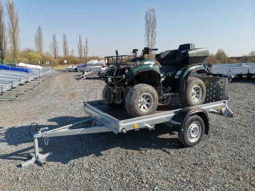 Sklopný přívěs za osobní auto PZ 1,3T 3,00x1,65 skl č.56