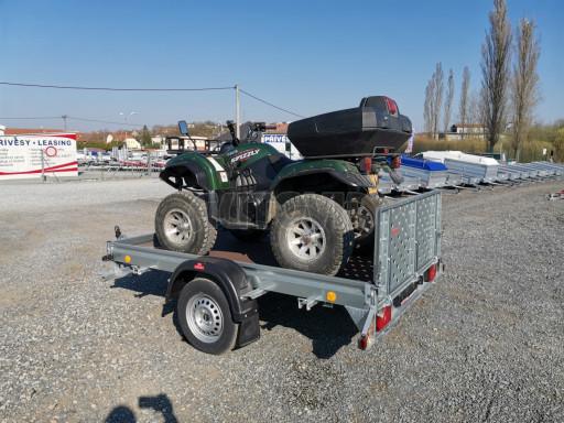 Sklopný přívěs za osobní auto PZ 1,3T 3,00x1,65 skl č.58