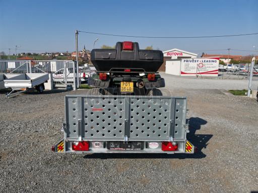 Sklopný přívěs za osobní auto PZ 1,3T 3,00x1,65 skl č.59