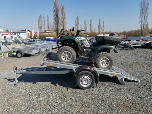 Sklopný přívěs za osobní auto PZ 1,3T 3,00x1,65 skl č.64
