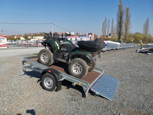 Sklopný přívěs za osobní auto PZ 1,3T 3,00x1,65 skl č.65