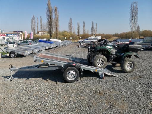 Sklopný přívěs za osobní auto PZ 1,3T 3,00x1,65 skl č.72