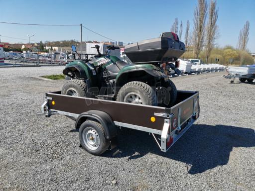 Přívěsný vozík sklopný ZV 27 N1 skl 2,50x1,48/0,35M POČ č.15