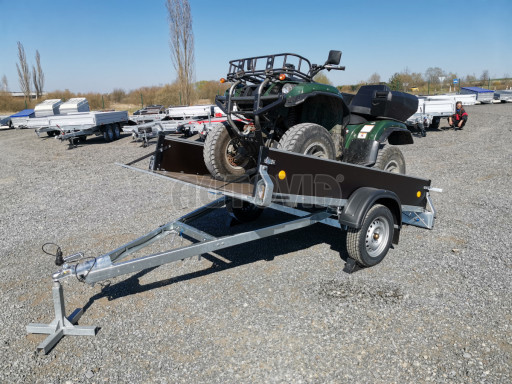 Přívěsný vozík sklopný ZV 27 N1 skl 2,50x1,48/0,35M POČ č.20