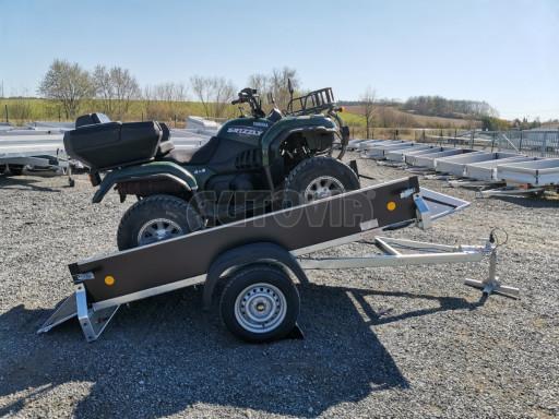 Přívěsný vozík sklopný ZV 27 N1 skl 2,50x1,48/0,35M POČ č.2