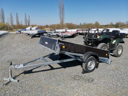 Přívěsný vozík sklopný ZV 27 N1 skl 2,50x1,48/0,35M POČ č.26