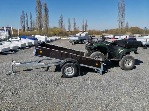 Přívěsný vozík sklopný ZV 27 N1 skl 2,50x1,48/0,35M POČ č.27