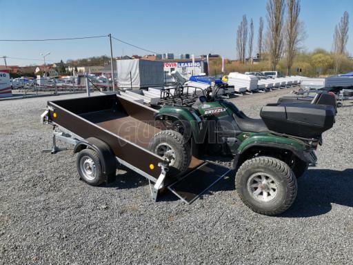 Přívěsný vozík sklopný ZV 27 N1 skl 2,50x1,48/0,35M POČ č.28