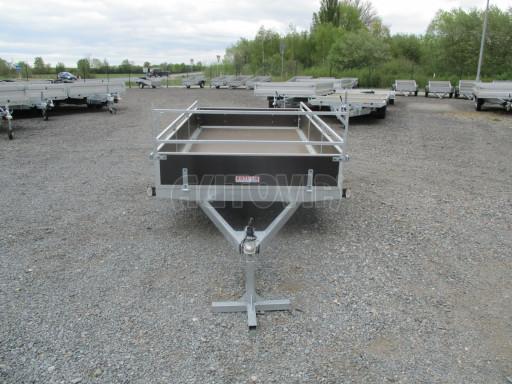 Přívěsný vozík za auto ZV 31 750kg N1 3,01x1,54/0,30 zes.náprava POČ** č.13