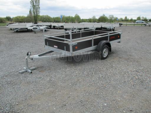Přívěsný vozík za auto ZV 31 750kg N1 3,01x1,54/0,30 zes.náprava POČ** č.4