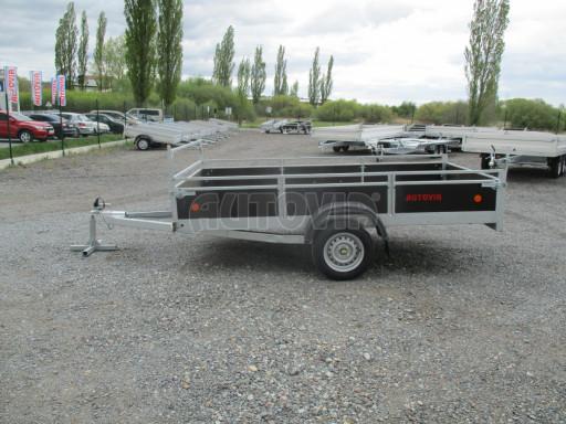 Přívěsný vozík za auto ZV 31 750kg N1 3,01x1,54/0,30 zes.náprava POČ** č.8