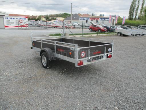 Přívěsný vozík za auto ZV 31 750kg N1 3,01x1,54/0,30 zes.náprava POČ** č.9