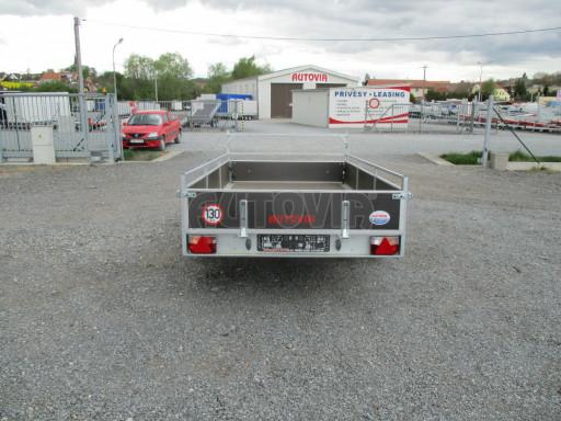 Přívěsný vozík za auto ZV 31 750kg N1 3,01x1,54/0,30 zes.náprava POČ** č.10