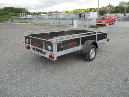 Přívěsný vozík za auto ZV 31 750kg N1 3,01x1,54/0,30 zes.náprava POČ** č.14