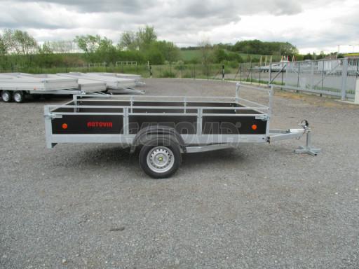 Přívěsný vozík za auto ZV 31 750kg N1 3,01x1,54/0,30 zes.náprava POČ** č.7