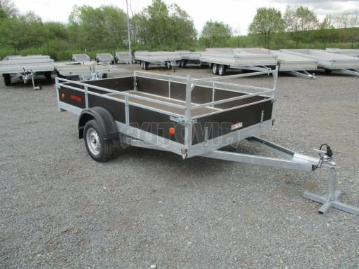 Přívěsný vozík za auto ZV 31 750kg N1 3,01x1,54/0,30 zes.náprava POČ** č.2
