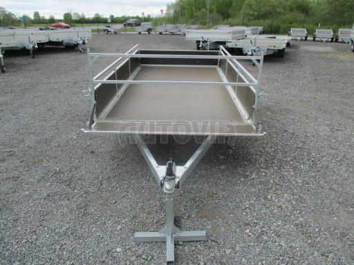 Přívěsný vozík za auto ZV 31 750kg N1 3,01x1,54/0,30 zes.náprava POČ** č.15