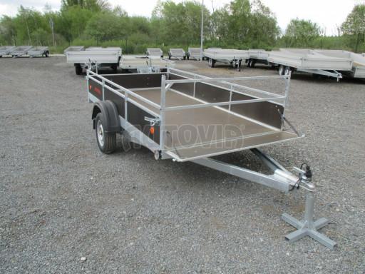 Přívěsný vozík za auto ZV 31 750kg N1 3,01x1,54/0,30 zes.náprava POČ** č.1