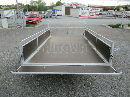 Přívěsný vozík za auto ZV 31 750kg N1 3,01x1,54/0,30 zes.náprava POČ** č.3