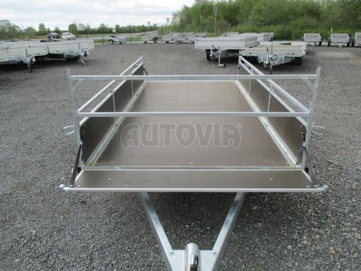 Přívěsný vozík za auto ZV 31 750kg N1 3,01x1,54/0,30 zes.náprava POČ** č.6