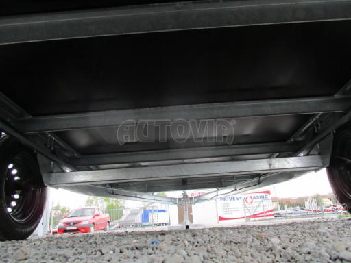 Přívěsný vozík za auto ZV 31 750kg N1 3,01x1,54/0,30 zes.náprava POČ** č.18