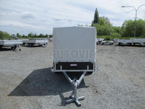 Přívěs za osobní auto s plachtou ZV 26 750kg N1 2,50x1,30/1,33 POČ č.2