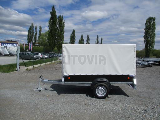 Přívěs za osobní auto s plachtou ZV 26 750kg N1 2,50x1,30/1,33 POČ č.3
