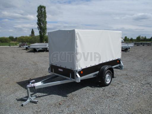 Přívěs za osobní auto s plachtou ZV 26 750kg N1 2,50x1,30/1,33 POČ č.1