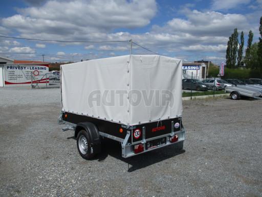 Přívěs za osobní auto s plachtou ZV 26 750kg N1 2,50x1,30/1,33 POČ č.4