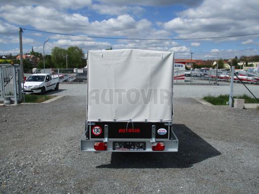 Přívěs za osobní auto s plachtou ZV 26 750kg N1 2,50x1,30/1,33 POČ č.5