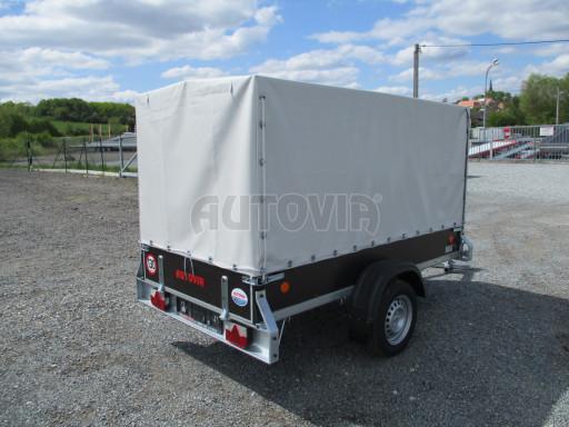 Přívěs za osobní auto s plachtou ZV 26 750kg N1 2,50x1,30/1,33 POČ č.6