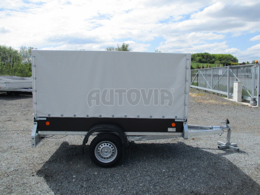 Přívěs za osobní auto s plachtou ZV 26 750kg N1 2,50x1,30/1,33 POČ č.7