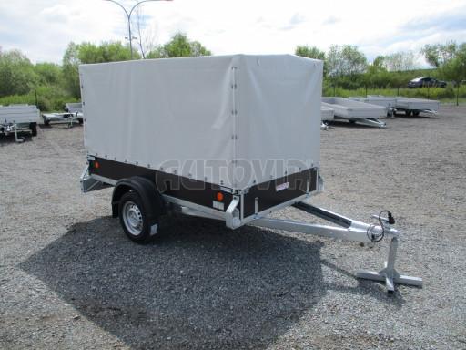 Přívěs za osobní auto s plachtou ZV 26 750kg N1 2,50x1,30/1,33 POČ č.8