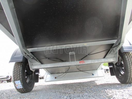 Přívěs za osobní auto s plachtou ZV 26 750kg N1 2,50x1,30/1,33 POČ č.12