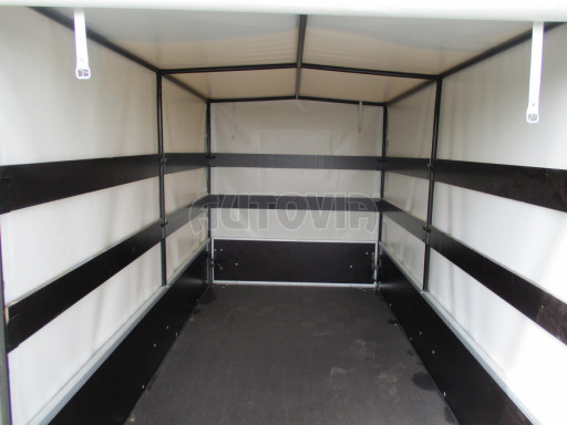 Přívěs za osobní auto s plachtou ZV 26 750kg N1 2,50x1,30/1,33 POČ č.9
