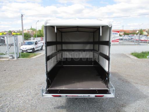 Přívěs za osobní auto s plachtou ZV 26 750kg N1 2,50x1,30/1,33 POČ č.10