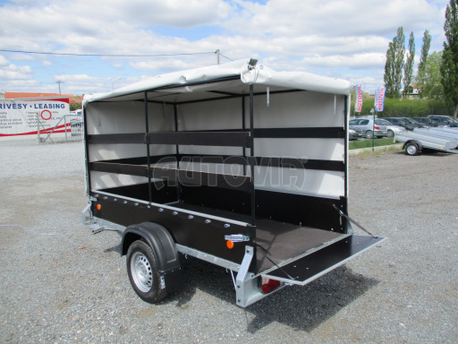 Přívěs za osobní auto s plachtou ZV 26 750kg N1 2,50x1,30/1,33 POČ č.11