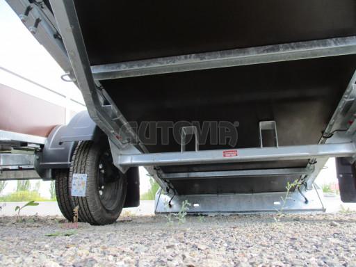 Nebrzděný jednoosý přívěs VA 750kg 2,52x1,27/0,30 RE POČ č.10