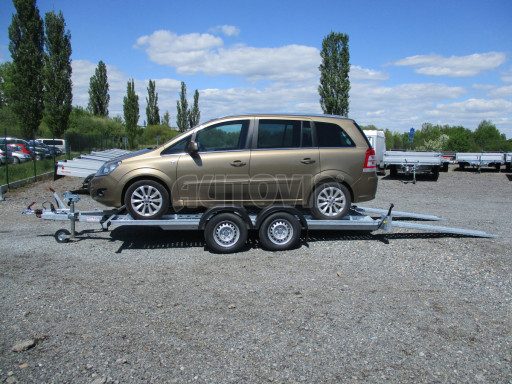 Přívěs pro přepravu aut CHP 07TA 2,0T 4,00x2,00 č.16