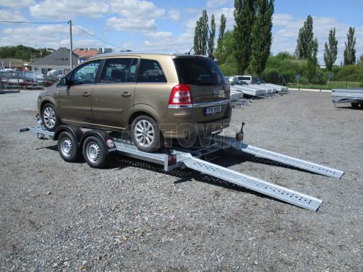 Přívěs pro přepravu aut CHP 07TA 2,0T 4,00x2,00 č.17