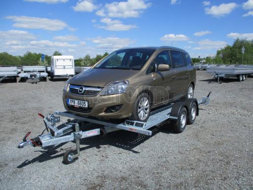 Přívěs pro přepravu aut CHP 07TA 2,0T 4,00x2,00 č.21