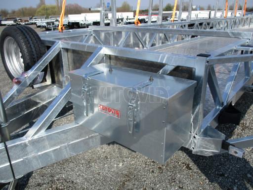 POOL - Transporter kapotovaný přepravník bazénů BA 3,5T B3 10,30x1,74* č.18