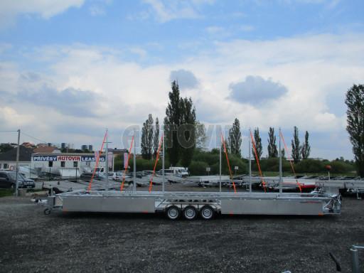 POOL - Transporter kapotovaný přepravník bazénů BA 3,5T B3 10,30x1,74* č.5