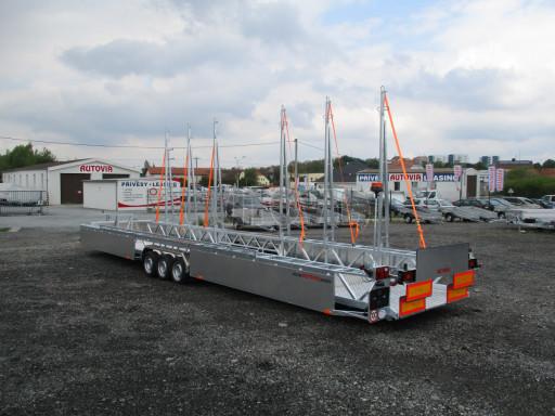 POOL - Transporter kapotovaný přepravník bazénů BA 3,5T B3 10,30x1,74* č.2