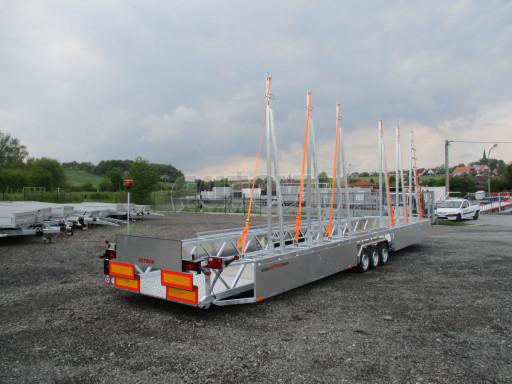 POOL - Transporter kapotovaný přepravník bazénů BA 3,5T B3 10,30x1,74* č.7