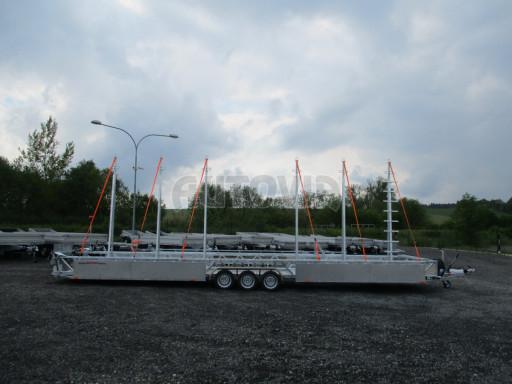 POOL - Transporter kapotovaný přepravník bazénů BA 3,5T B3 10,30x1,74* č.8