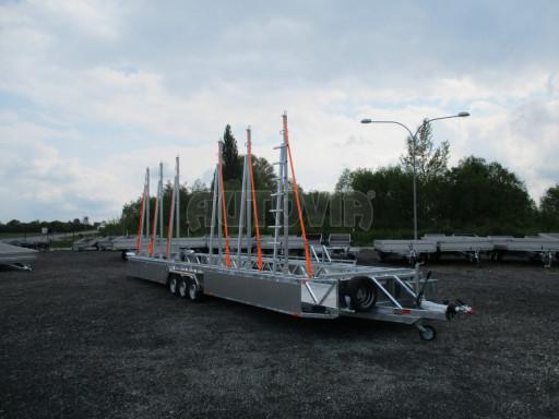 POOL - Transporter kapotovaný přepravník bazénů BA 3,5T B3 10,30x1,74* č.9