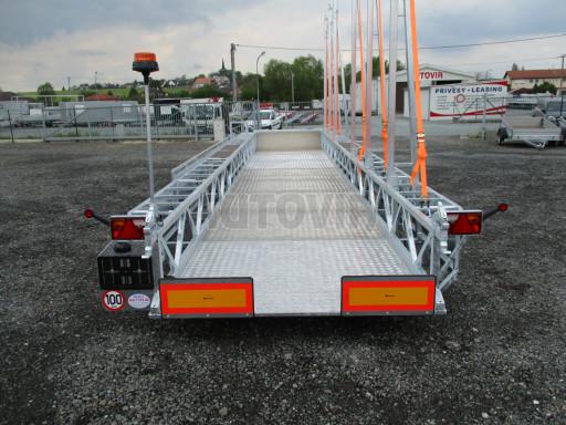 POOL - Transporter kapotovaný přepravník bazénů BA 3,5T B3 10,30x1,74* č.10