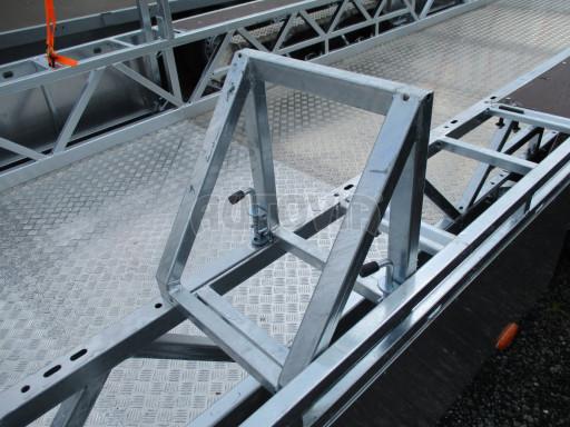 POOL - Transporter kapotovaný přepravník bazénů BA 3,5T B3 10,30x1,74* č.13