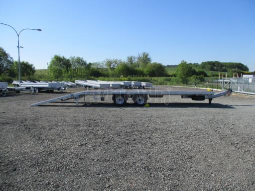 TRAKTOROVÝ vzduchem brzděné plato AGV 12T 7,80x2,35 č.12